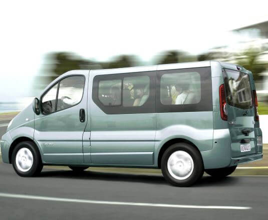 Микроавтобус для трансфера в аэропорт